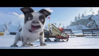 Комедийный мультфильм  Снежные гонки - русский трейлер  мультфильмы 2019