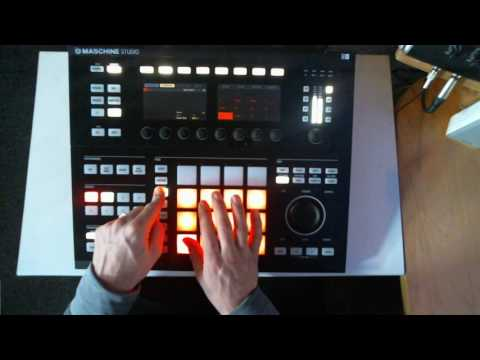 Keyboard Mode in NI Maschine Studio