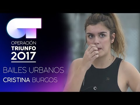 Clase de Bailes Urbanos con Cristina Burgos  (6 DIC)   OT 2017