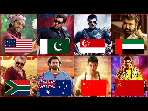 Every Country Highest Grossing Indian Movies in Worldwide USA, China, Japan, Pakistan