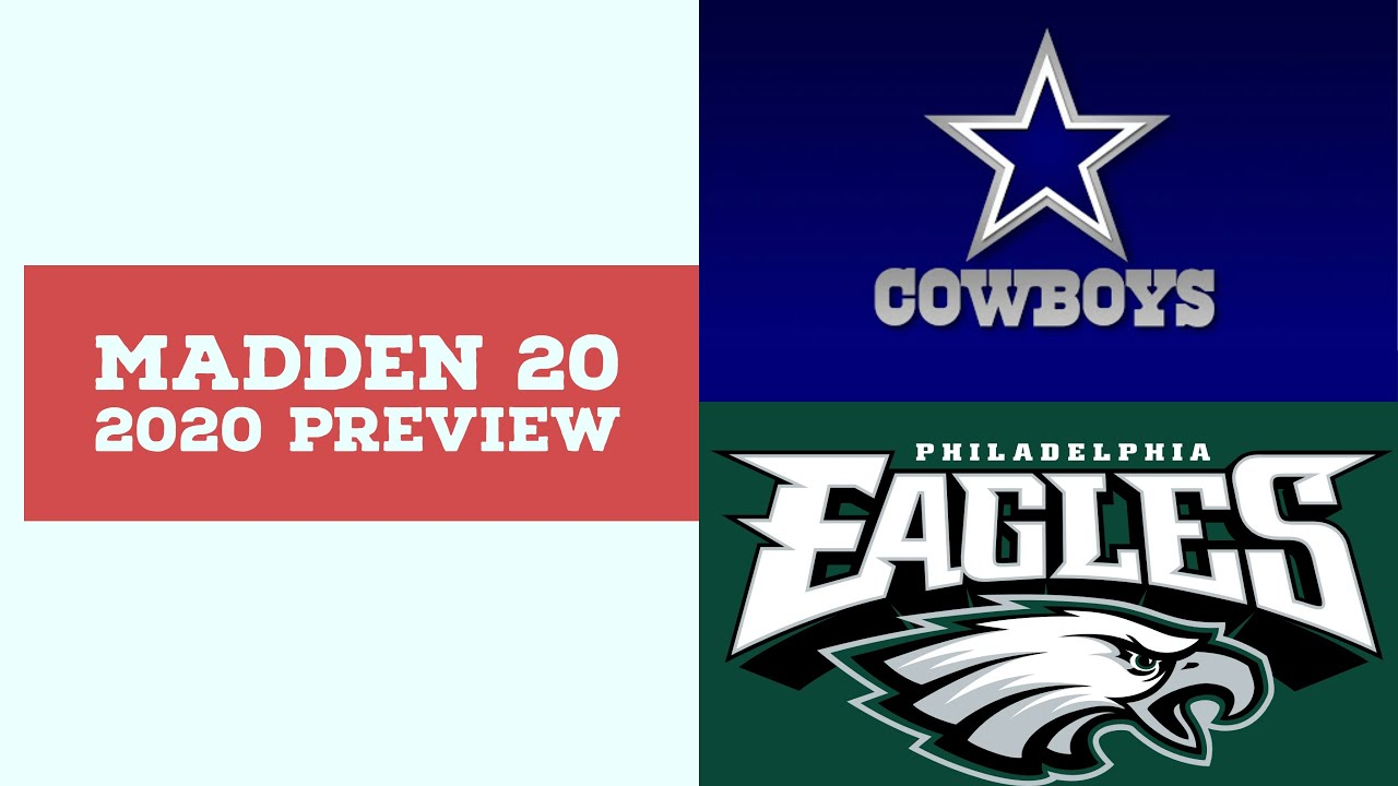 2020 Week 8 Preview - Dallas Cowboys vs Philadelphia Eagles - Simulation Nation