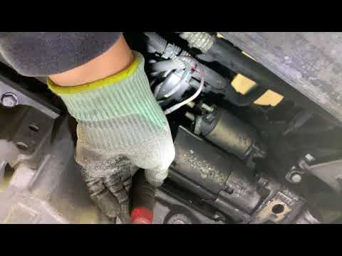 HOW TO REPLACE the starter on a 2004 saturn vue.