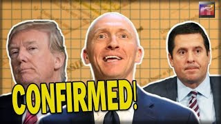 100% CONFIRMED! Nunes Makes Official Announcement about Carter Page that will SHOCK You to the CORE!