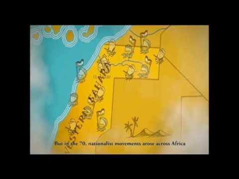 Western Sahara conflict Animation
