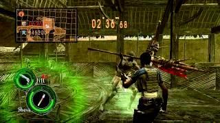 RE5 PC team survivors [Sheva 2013 gameplay]
