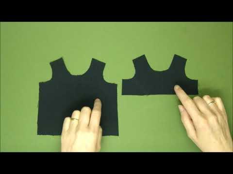 School Uniform Pinafore Dress - Rag Doll Outfit Making Tutorial