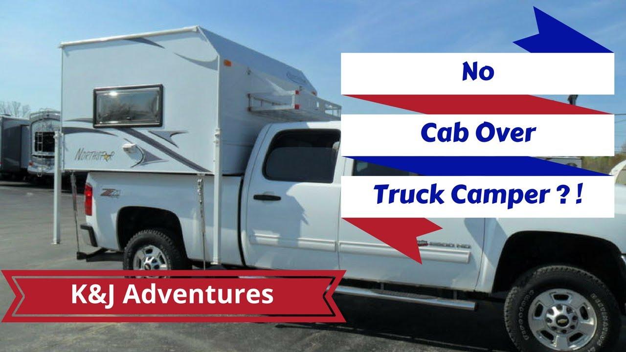 Northstar Vista RV Truck Camper Tour - No Cabover!