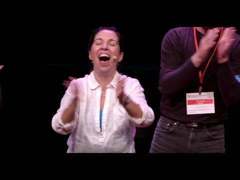 Laughter Yoga  Liliana DeLeo  TEDxMontrealWomen