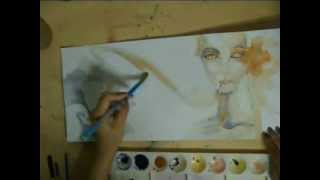 Speed Painting - Drug Addiction