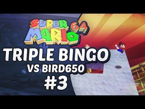 Super Mario 64 Triple Bingo vs Bird650 #3