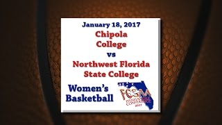 Panhandle Conference 2017 - Chipola @ NWFSC - January 18, 2017 - Women's Basketball