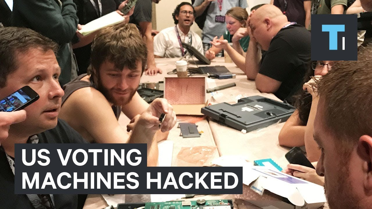 Def Con hackers made quick work of electronic voting machines