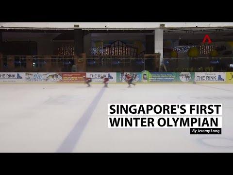 Meet Singapore's first winter Olympian