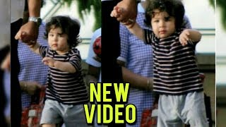 Taimur Ali Khan WALKING NEW VIDEO | Kareena Kapoor | Saif Ali Khan