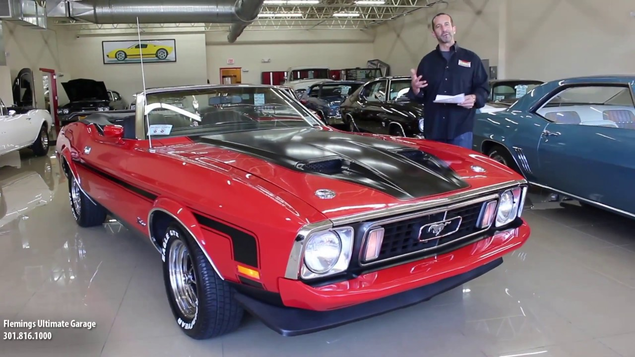 73 mustang mach 1 convertible for sale with test drive driving sounds and walk through video youtube