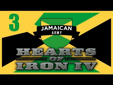 Hearts of Iron IV - Modern Day Jamaica #3