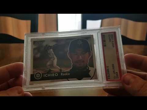 My Ichiro Rookie PSA Set Registry.