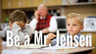 Inspirational Video- Be a Mr. Jensen- MUST WATCH!!