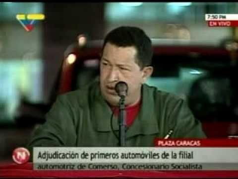 Regaño de Chávez