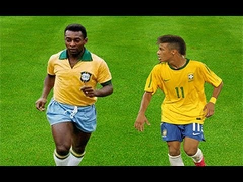 Neymar Vs Pele ● Brazilian DNA Skills