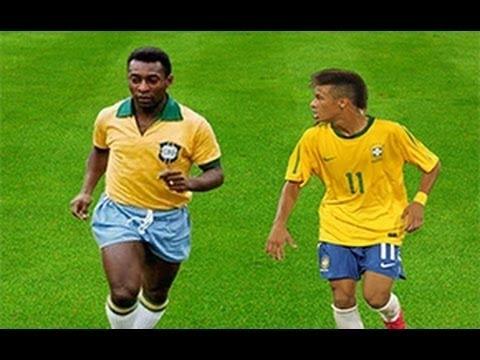 Neymar Vs Pele ● Brazilian DNA Skills