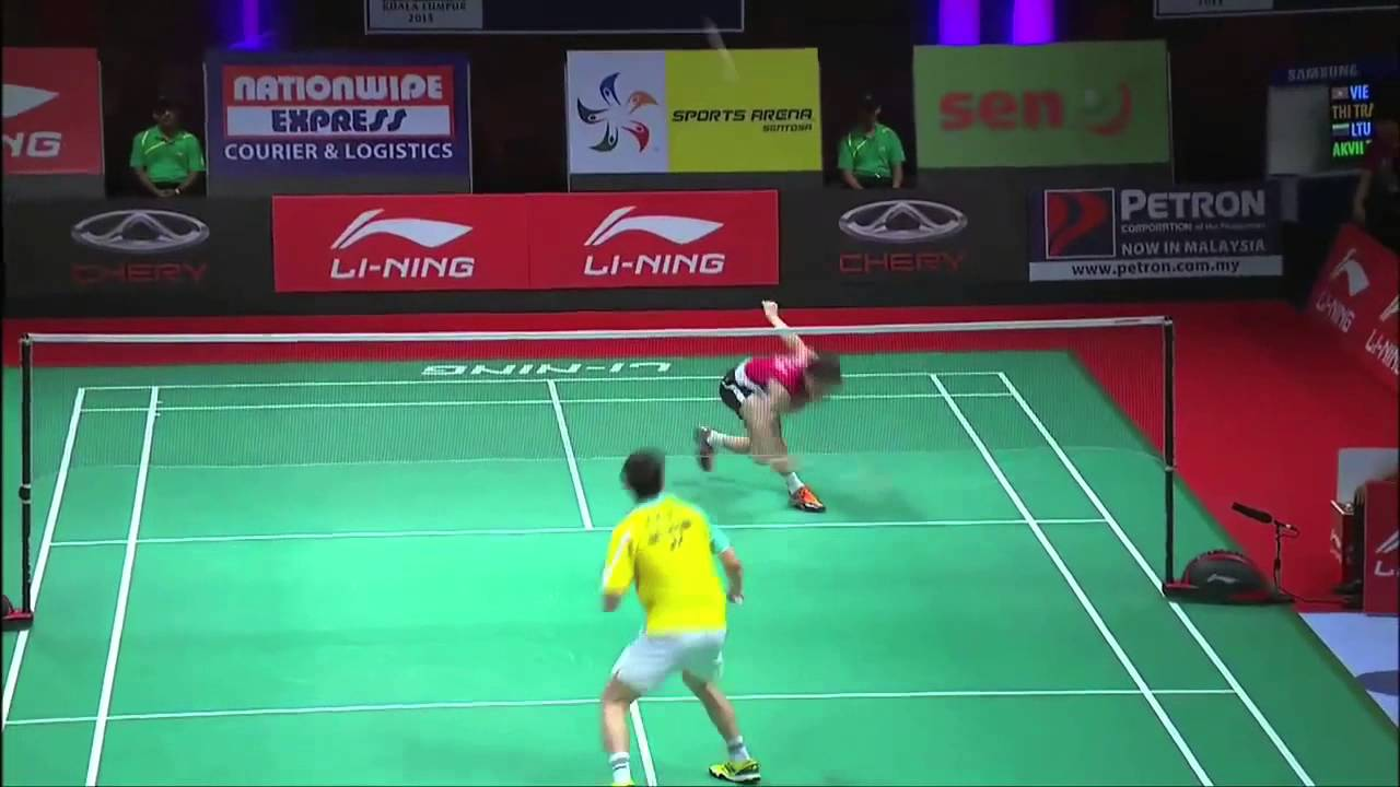 Group Stage MS Highlight Lee Dong Keun vs Wong Wing Ki