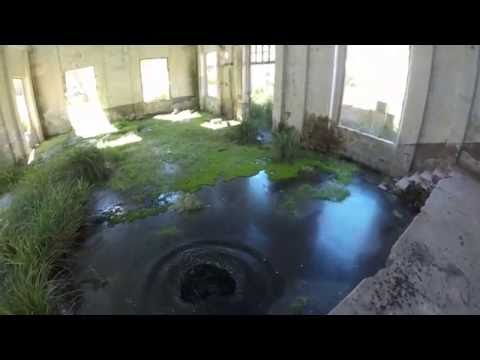 exploring ABANDONED BUILDING MINING FLOODED BY WATER