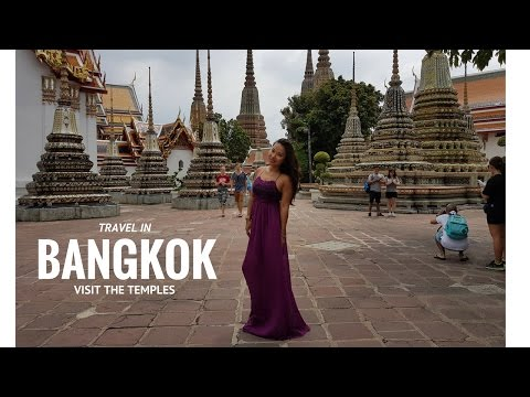 Travel in Bangkok : Temples Wat Arun, Wat Pho, Grand Palace (part 1)