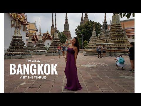 Travel in Bangkok : Temples Wat Arun, Wat Pho, Grand Palace (part 1)