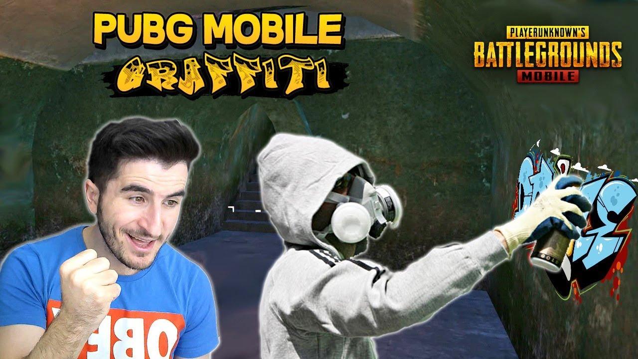 PUBG MOBİLE GRAFFİTİ YAPMA GELDİ !! (YENİ V0.15 GÜNCELLEMESİ) - PUBG Mobile