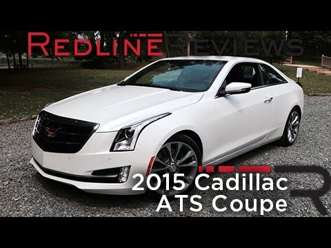2015 Cadillac ATS Coupe – Redline: First Drive - YouTube