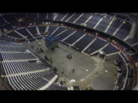 Incredible Time Lapse Shows 7 Events In 8 Days At Philips Arena