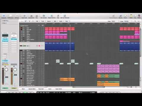 First house music production – in Logic 9