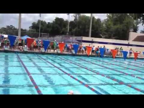 Swim Meet at Boles High School