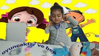 pepe çok hasta doktor almina muayene ediyor ,Eğlenceli çocuk videosu