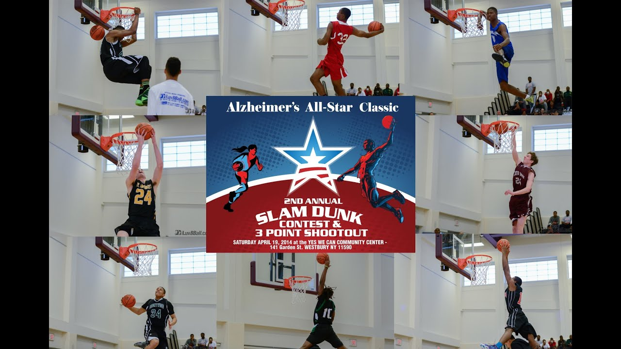 2014 AABClassic Slam Dunk Contest Highlights