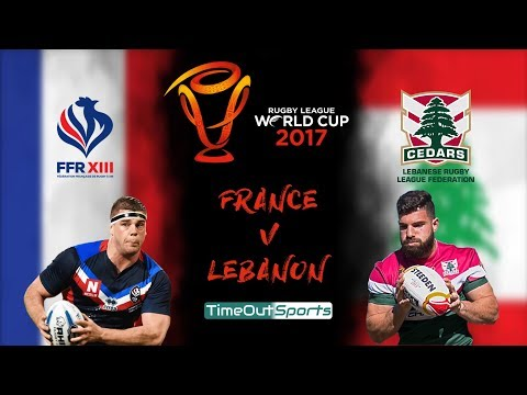 Lebanon Vs France (29-18) Highlights | Rugby League World Cup 2017