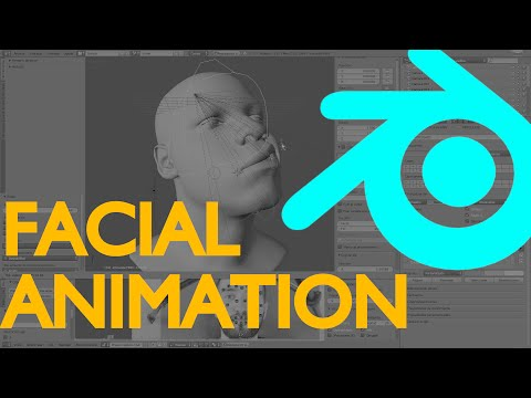 Hybrid facial animation system | Blender