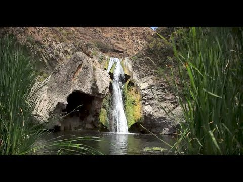 """Explore TO"" - Hiking in Wildwood Park - Paradise Falls Waterfall - Thousand Oaks, CA"