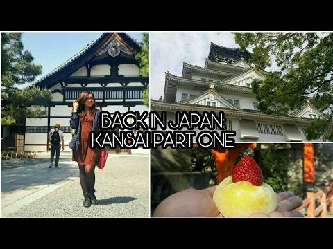 BACK IN JAPAN: Kansai Vlog Part 1 | Osaka Castle, Umeda Sky, Gion ++