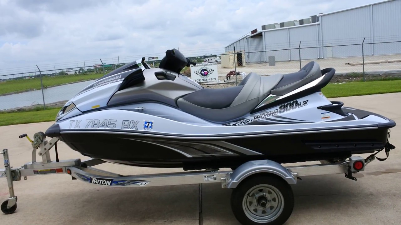 For Sale $8,999: Pre Owned 2012 Kawasaki Ultra 300 LX Jet Ski with ...