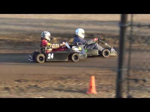 Redwood Acres Raceway 6-24-16 Speedway Kart Heat Race