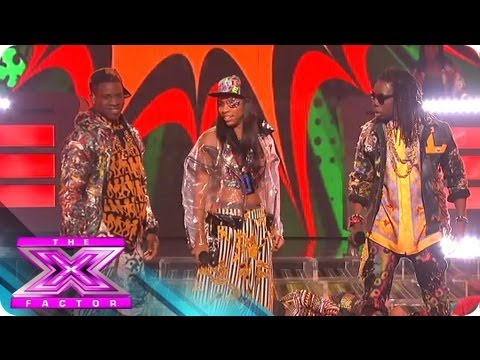 Lyric145 Goes Gangnam Style - THE X FACTOR USA 2012
