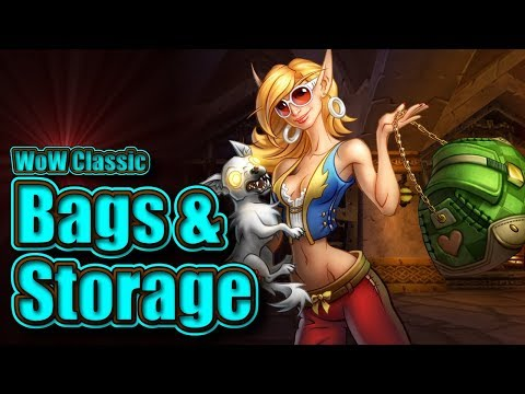Classic WoW: Bags & Storage Guide