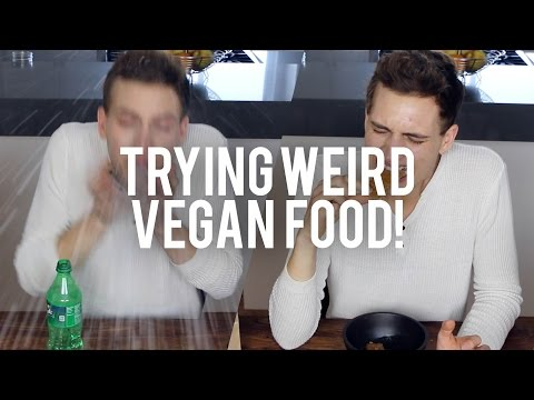 TRYING WEIRD VEGAN FOOD