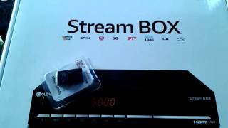 gold vision stream box