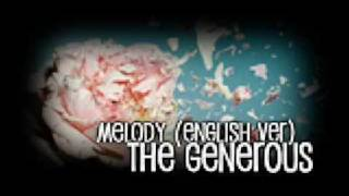 the generous - Melody (English ver.)