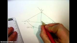 Likebeint trekant