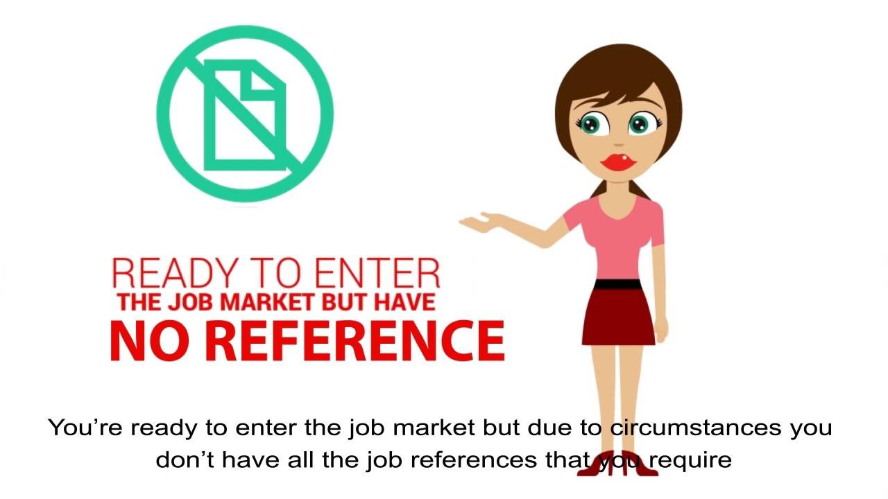 fake job reference no problem need a reference hire us youtube