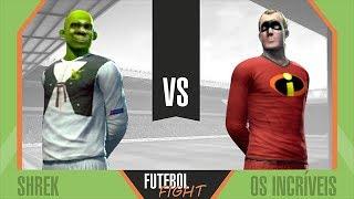 Shrek vs Os Incríveis - Futebol Fight